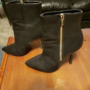 JLO Black Ankle Boots